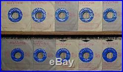 10 ELVIS PRESLEY ORIGINAL 1956 CANADIAN ONLY ON THE LIGHT BLUE LABEL -MINT- 45