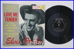 10 Elvis Presley Love Me Tender Songs LS548 VICTOR Japan Vinyl