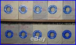 10 Very, Very, Rare Elvis Presley 1956 Canadian Light Blue Label Mint- 45