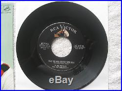 100% MINT DISC Elvis Presley Wear My Ring Around Your Neck 47-7240