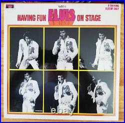 100% MINT SEALED BOXCAR Elvis Presley HAVING FUN WITH ELVIS ON STAGE