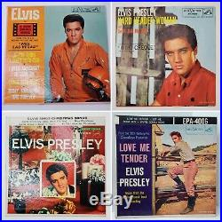 15 Elvis Presley Records (45) Lot in Very Good Condition with Picture Sleeves