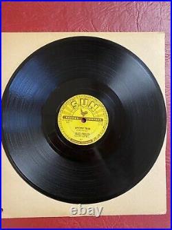 1955 Elvis Presley Original 78 10 Sun Records 223 Mystery Train / I Forgot