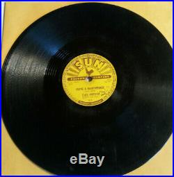 1955 Rocker Elvis Presley Sun 215 78 RPM Milkcow Blues Boogie Rock N Roll