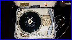 1956 Elvis Presley RCA 7-EP-45 Record Player. RARE Vintage