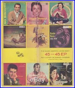 1956 Rca Music America Loves Best Promo 45 & Ep Booklet (elvis Presley) Killer