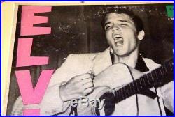 1956 orig ELVIS PRESLEY lp self titled 1st album LPM 1254 MONO RARE VG+ PLAYS EX