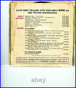 1958 Elvis Presley Signed Autographed 45 RPM Record BAS BECKETT & Epperson LOA