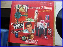 1s /1s Elvis Presley Elvis' Christmas Album LOC-1035 AT LEAST VG++ VINYL