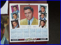 1s /1s LPM-2621 & LSP-2621 Elvis Presley GIRLS, GIRLS, GIRLS with BONUS CALENDAR