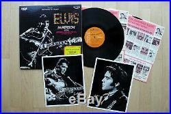 2 LP Elvis Presley From Memphis To Vegas USA RCA + 2 Bonus Photos