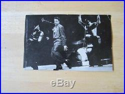 (2) Original Bonus Photo inserts from Elvis LP's, 1956 photo & 1963 Calendar