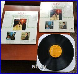 3 (SEALED, TAN, ORANGE) Elvis Presley WONDERFUL WORLD OF CHRISTMAS LSP-4579