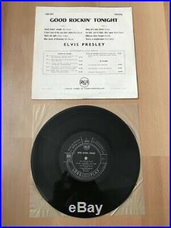 33 Tours RPM Elvis Presley Good Rockin' Tonight Mint vinyl 1957 VERY RARE