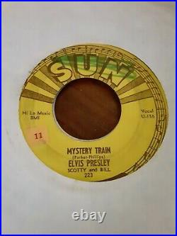 45 orig Elvis Presley on Sun Mystery Train / I Forgot To. From 1955