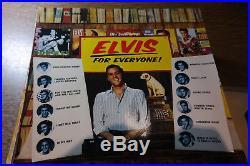 48 LPs SAMMLUNGSAUFLÖSUNG ELVIS PRESLEY hauptsächlich RCA, RARITÄTEN
