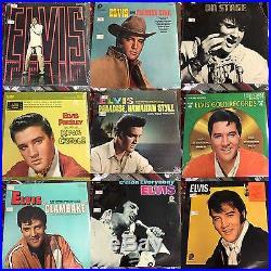 57 Elvis Presley Records (Sealed)