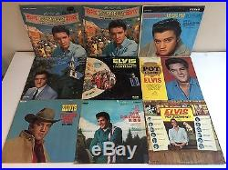 66 ELVIS PRESLEY LP LOT 1254 Girls! Picture Disc A Date With GI Blues Pot Luck