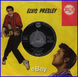 7 1956 Elvis Presley MYSTERY TRAIN RCA s2 47-6357! Musterplatte! EX
