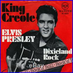 7 1960s Elvis Presley DIXIELAND ROCK Bildcover TESTPRESSUNG RCA 47-9201 NM