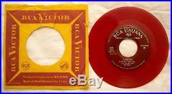 7 45 Elvis Presley Jailhouse Rock Anno 1958 Red Vinyl Rca 45n 0616