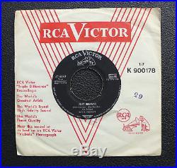7 Elvis Presley Just Because/ Blue Moon German RCA 47-6640 Army PX Nipper