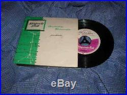 7 VA Kingende Post Warenprobe Elvis Presley Promo Disc