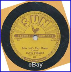 78 RPM Elvis Presley, Baby Lets Play House/I'm Left You're Right, Sun, F