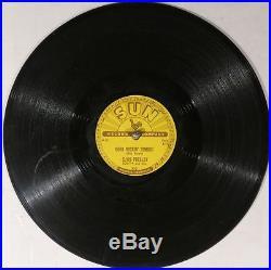 78 RPM - Elvis Presley, Sun 210 (original) Good Rockin' Tonight, V+ / E- Rock