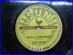 78 Sun 215 Elvis Presley Milkcow Blues Boogie