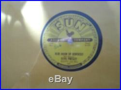 78 rpm elvis presley That's all right in near mint to mint condition