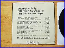 99.9% MINT B & W PKG FROM 1956 Elvis Presley Love Me Tender 47-6643