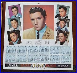 99% MINT 1963 Elvis Presley GIRLS, GIRLS, GIRLS LPM-2621 withCALENDAR & ENVELOPE