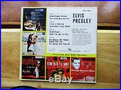 99% MINT RECORDS Elvis Presley Elvis Presley EPB-1254 (ADS ON BACK)