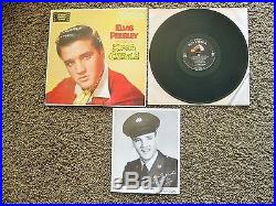 99% MINT Total Package Elvis Presley King Creole with photo LPM-1884