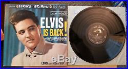 99% MINT Vinyl LIVING STEREO Elvis Presley ELVIS IS BACK LSP-2231