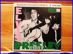 99% MINT White Label Record Preview Pkg Elvis Presley Elvis Presley EPB-1254