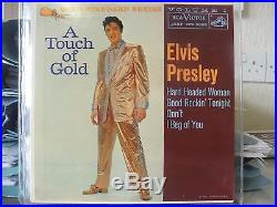 A TOUCH OF GOLD USA GSS EP MAROON ELVIS PRESLEY VOL 1 MAROON LABEL 1ST PRESS