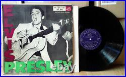 ARGENTINA Elvis Presley SUPER RARE PRESSING! AVL-3037 HIS FIRST Lp Nice! ROCK
