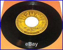 All 5 Original Elvis Presley Sun 45 Record 209 210 215 217 223 Birth Rock N Roll