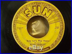 BABY LETS PLAY HOUSE SUN 217 45 ELVIS PRESLEY ORIGINAL SUN 45