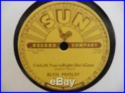 BABY LETS PLAY HOUSE SUN 78 217 ELVIS PRESLEY GENUINE SUN 78