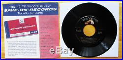 BEAUTIFUL Elvis Presley SAVE-ON-RECORDS Bulletin for June (1956) SPA-7-27
