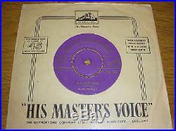 Blue Suede Shoes Elvis Presley Original Uk Purple/gold Hmv Label 1956