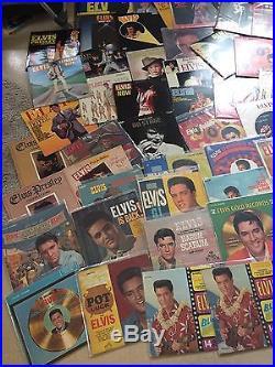 Collection Of 59 Vintage Elvis Presley Vinyl LP Records Great Condition & Value