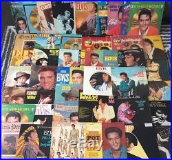 Collection of 42 Elvis Presley Vinyl LP Records