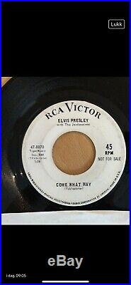 Collection of Elvis Presley Owned 45 RPM Records from His Personal Juke Box