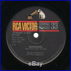 (Compact 33 EX) Elvis Presley Lonely Man /Surrender RCA Victor 37-7850 1961