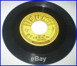 Complete Set All 5 Elvis Presley Sun Records ORIGINAL 45RPM 209 210 215 217 223