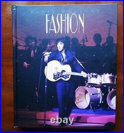DELETED 2011 UN-SEALED Elvis Presley FASHION FOR A KING FTD BOOK + 2 CD Set